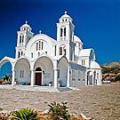 CHURCH OF AGHIOS ARSENIOS, PAROS,GREECE by vaggypar