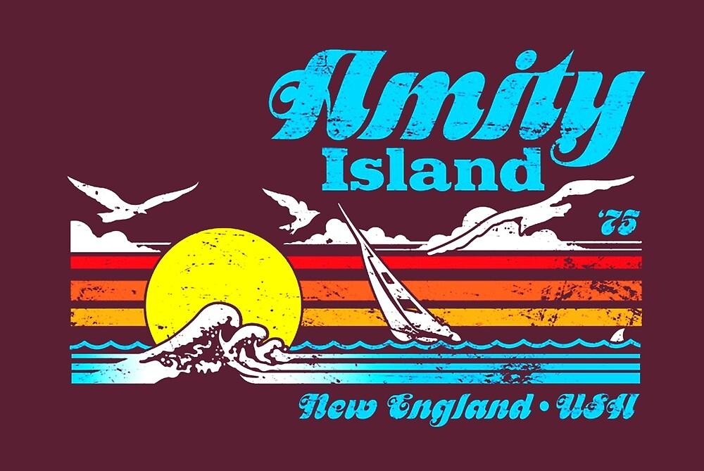 Jaws - Amity Island by UnconArt