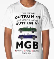 MGB - Making Grins Bigger since 1962 Long T-Shirt