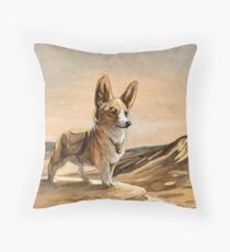The Courgier  Throw Pillow