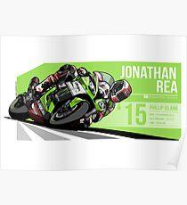 Jonathan Rea - 2015 Phillip Island Poster