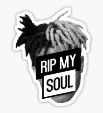 xxxTentacion- RIP My Soul Sticker
