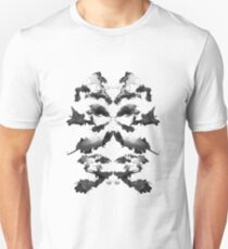 Rorschach t shirt design - Dragon Spirit (Light) T-Shirt