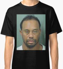 Tiger Woods mug shot Classic T-Shirt