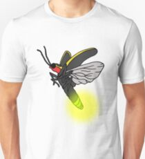 Lightning Bug Art Unisex T-Shirt