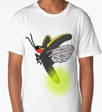 Lightning Bug Art Long T-Shirt