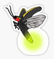 Lightning Bug Art Sticker