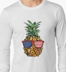 Patriotic Pineapple - 4th of July T-Shirt