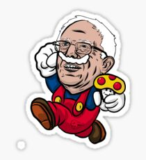 "Super Bernie Bros. ""Bernio""  Sticker"