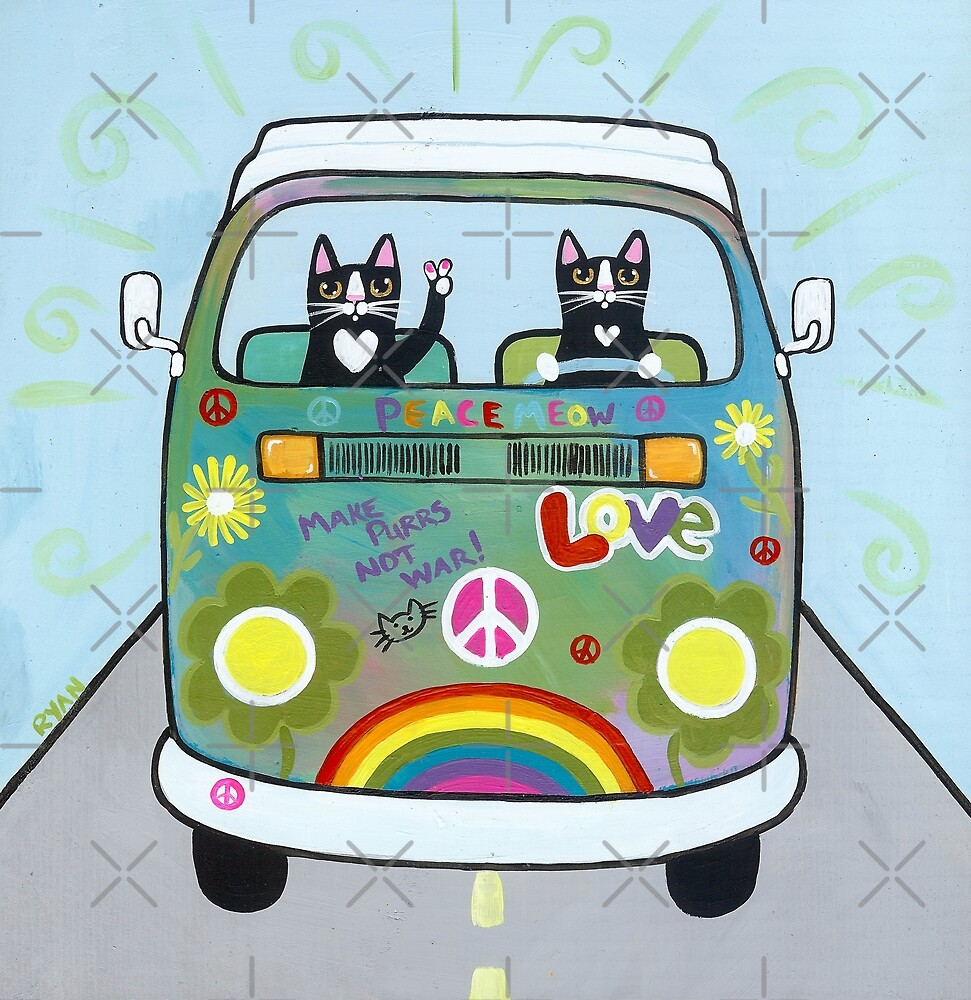 The Hippie Bus by Ryan Conners