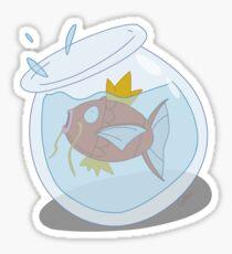 Magikarp Fish Bowl Sticker