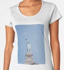 Statue of Liberty Polaroid Women's Premium T-Shirt