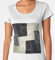 Abstract Painting Women's Premium T-Shirt