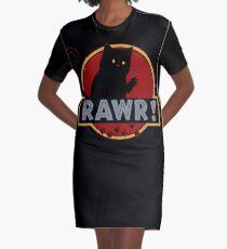 Rawr! Graphic T-Shirt Dress