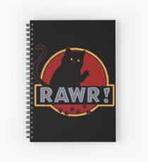 Rawr! Spiral Notebook