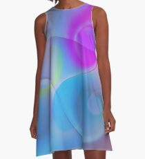 the sound of colors -2- A-Linien Kleid