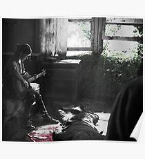 Ellie guitar - The last of us Part 2 Poster