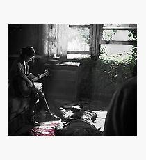 Ellie guitar - The last of us Part 2 Photographic Print