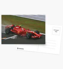 Kimi Raikkonen Postcards