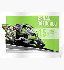 Kenan Sofuoglu - 2015 Imola Poster