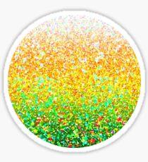 Color Dots Background G73 Sticker