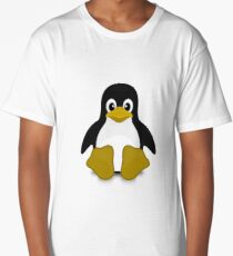 Tux Linux Long T-Shirt