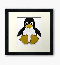 Tux Linux Framed Print