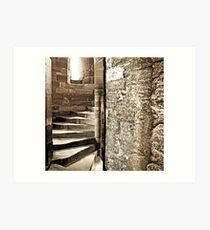 Blackness Castle Stairs Art Print
