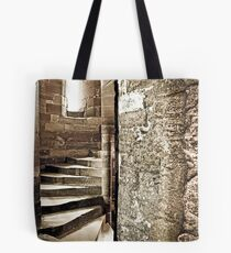 Blackness Castle Stairs Tote Bag