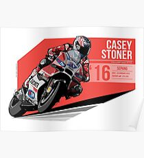 Casey Stoner Posters