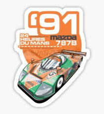 MAZDA - 787B GROUP C2 Sticker