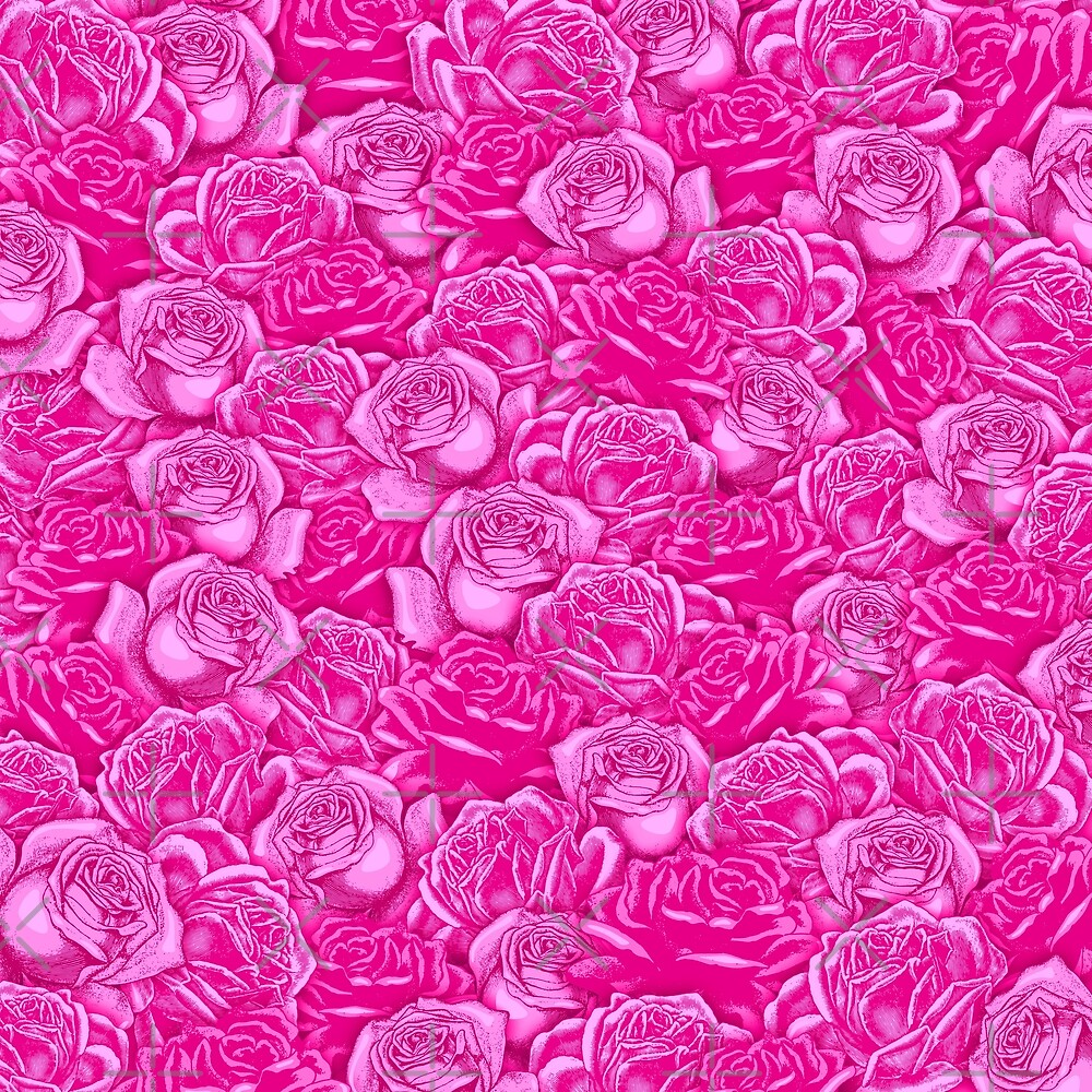 Too Many Pink Roses by GrandeDuc