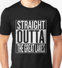 Straight Outta The Great Lakes T-Shirt