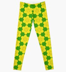 Heraldic Daffodil Leggings