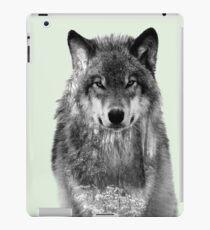 Snowy forest Wolf iPad Case/Skin