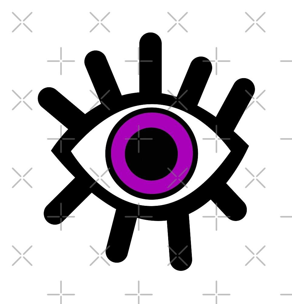 Purple Eye by Ela Co