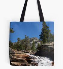 Yosemite's back country waterfalls Tote Bag
