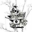 «Casita de árbol» de Heleacla