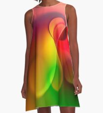 the sound of colors -6- A-Linien Kleid