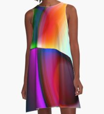 the sound of colors -7- A-Linien Kleid