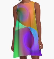 the sound of colors -11- A-Linien Kleid