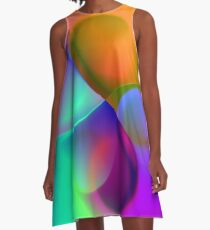 the sound of colors -12- A-Linien Kleid