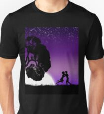 Romantic couple at sunset 2 T-Shirt