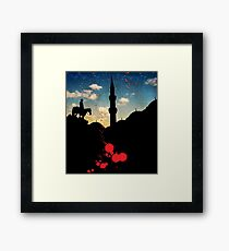 A Cowboy in Baghdad, Ten Year Anniversary Framed Print
