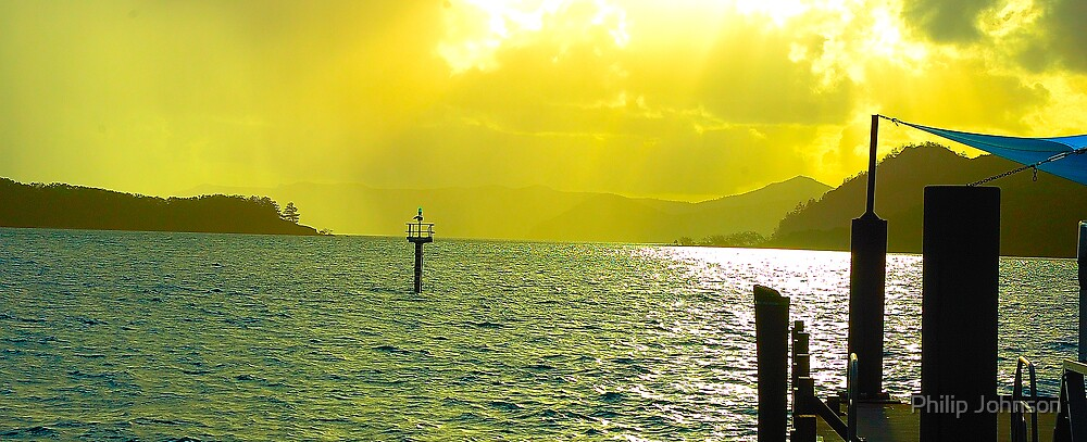 Daydreaming - Daydream Island, The Whitsundays Queensland Australia by Philip Johnson