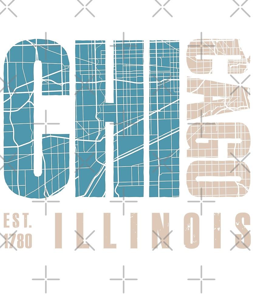 Chicago illinois by Dream Imagine Create .