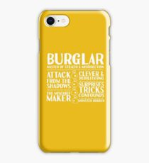 Burglar - LoTRO iPhone Case/Skin