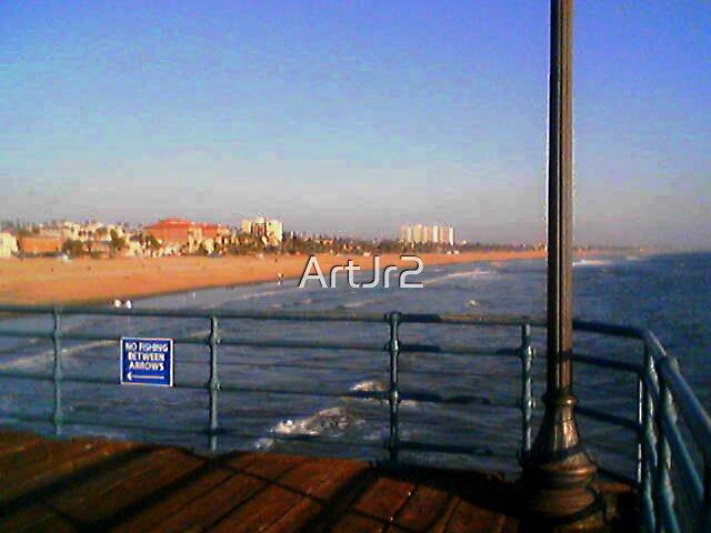 Santa Monica Pier by ArtJr2
