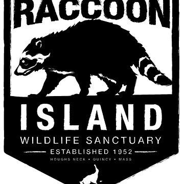 Raccoon Island Wildlife Sanctuary by houghsneckt