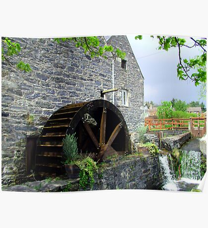 Blair Atholl Water Mill Poster